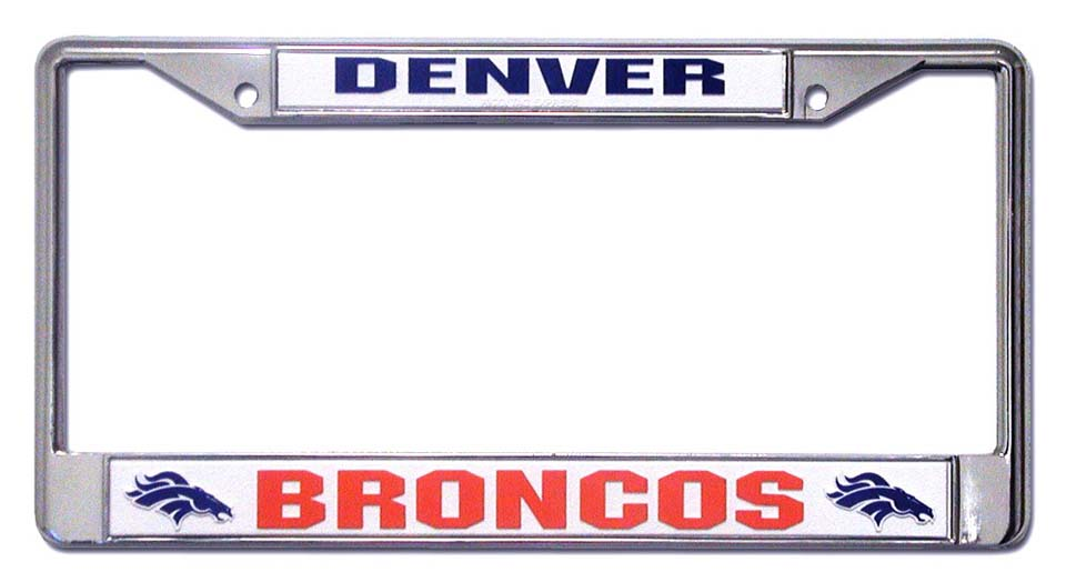 Denver Broncos License Plate Price Compare