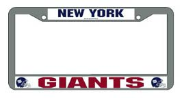 New York Giants License Plate Price Compare