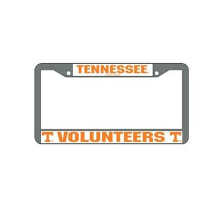 Tennessee Volunteers Chrome License Plate Frame - Set of 2