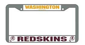 Washington Redskins License Plate Price Compare