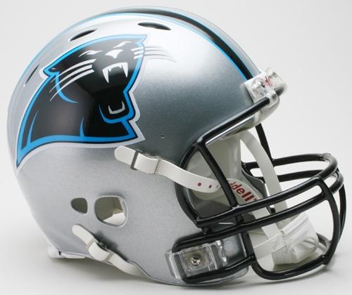 Carolina Panthers NFL Revolution Authentic Pro Line Full Size Helmet from Riddell CD-REV-CAROLINA