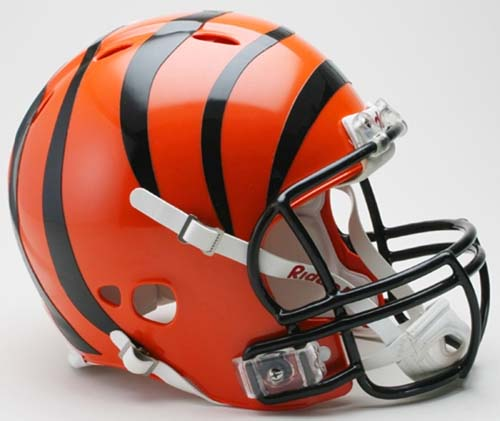 Cincinnati Bengals NFL Revolution Authentic Pro Line Full Size Helmet from Riddell CD-REV-CINCINNATI