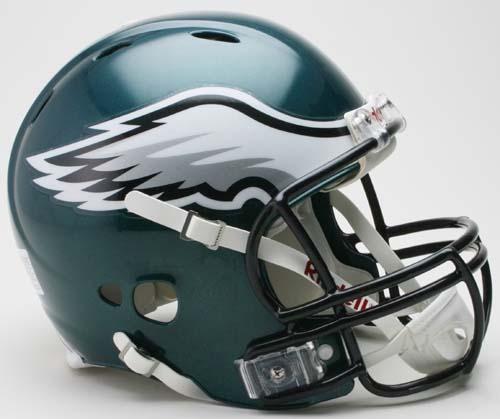 Philadelphia Eagles NFL Revolution Authentic Pro Line Full Size Helmet from Riddell CD-REV-PHILA