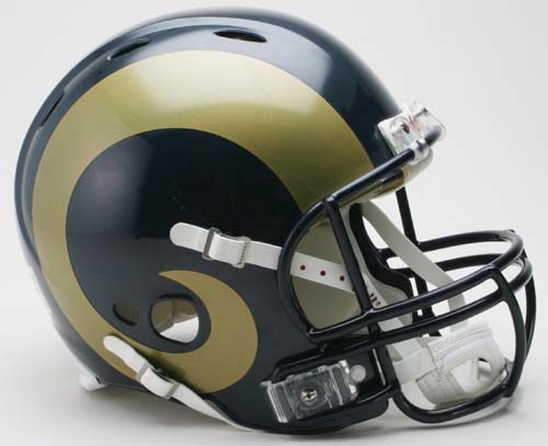 St. Louis Rams NFL Revolution Authentic Pro Line Full Size Helmet from Riddell
