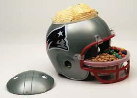 New England Patriots Snack Helmet | Super Bowl Party | PartyShelf.com