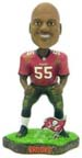 Derrick Brooks Tampa Bay Buccaneers Game Worn Bobble Head Doll from Forever Collectibles