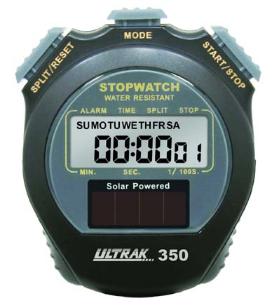 Ultrak 350 Solar Stopwatch CEI-350