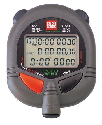 Ultrak 499 2000 Lap Memory Multi-Function Ultrak Stopwatch