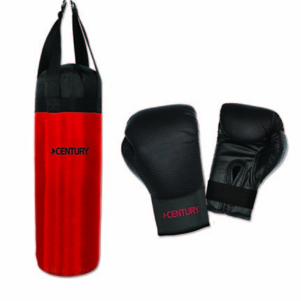 MMA Youth Training Bag and Gloves Combination Set from Century