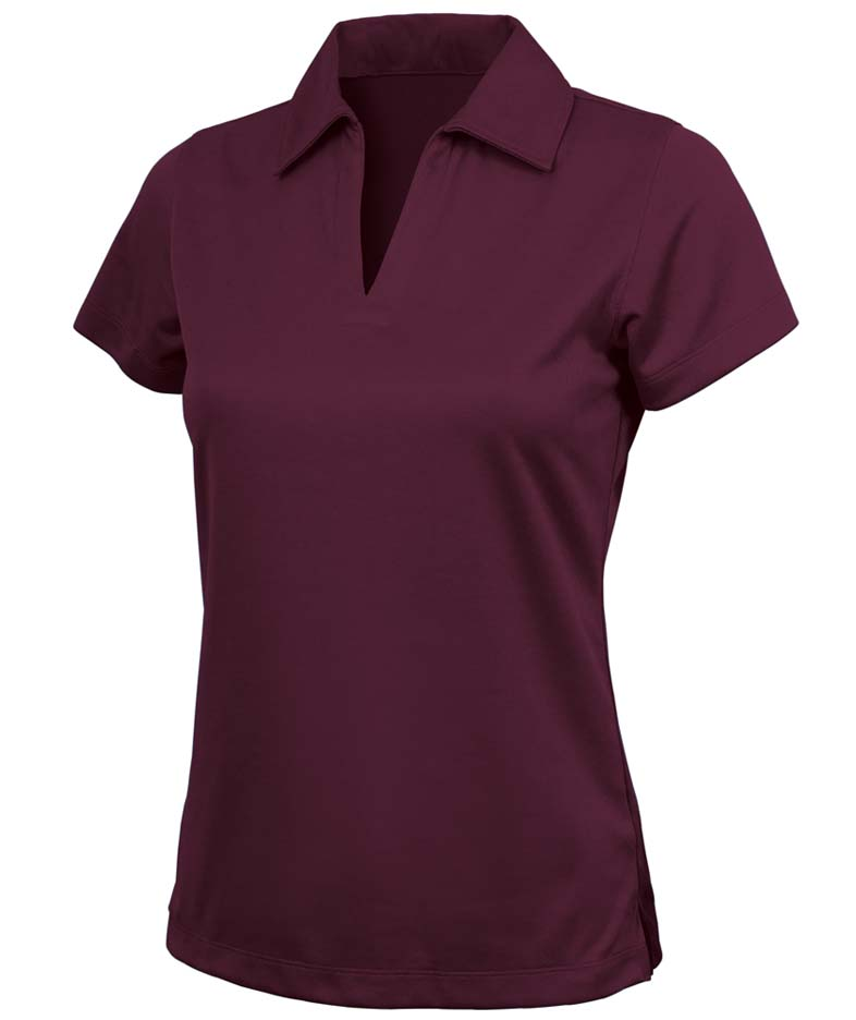 Women's Color Blocked Smooth Knit Wicking Polo from Charles River Apparel