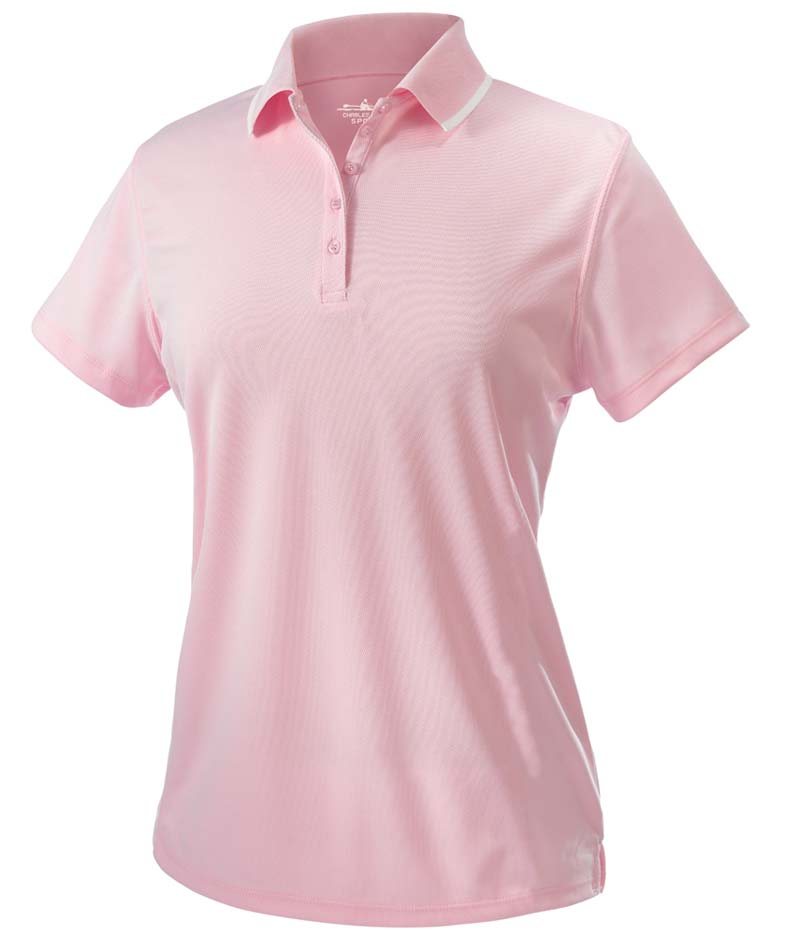 Womens Classic Wicking Polo Shirt From Charles River Apparel