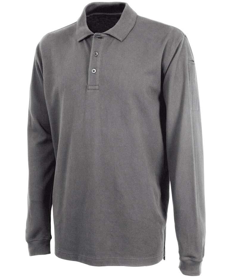 Men's Long Sleeve Allegiance Polo Shirt from Charles River Apparel CHR-3347