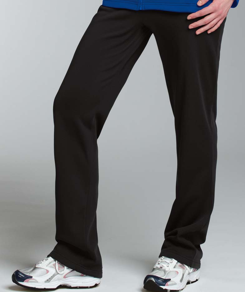 Women's Hexsport Bonded Warm-up Pants from Charles River Apparel CHR-5079