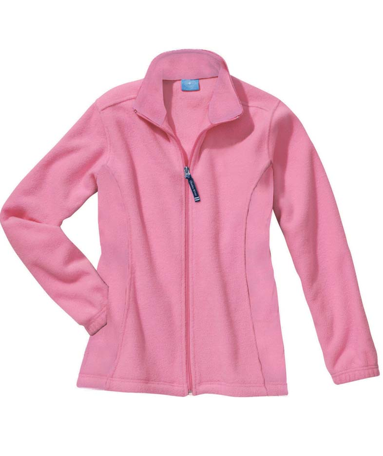 Women's Voyager Fleece Jacket from Charles River Apparel CHR-5702