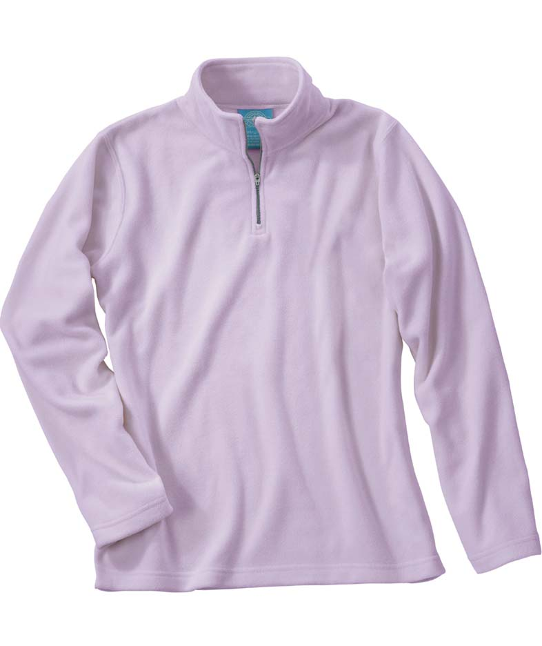 Women's Freeport Microfleece Pullover Jacket from Charles River Apparel CHR-5870