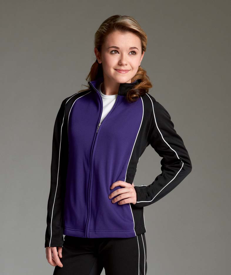 """The """"""""Olympian Collection"""""""" The Olympian Warm-up Jacket for Women from Charles River Apparel"""" CHR-5984"""
