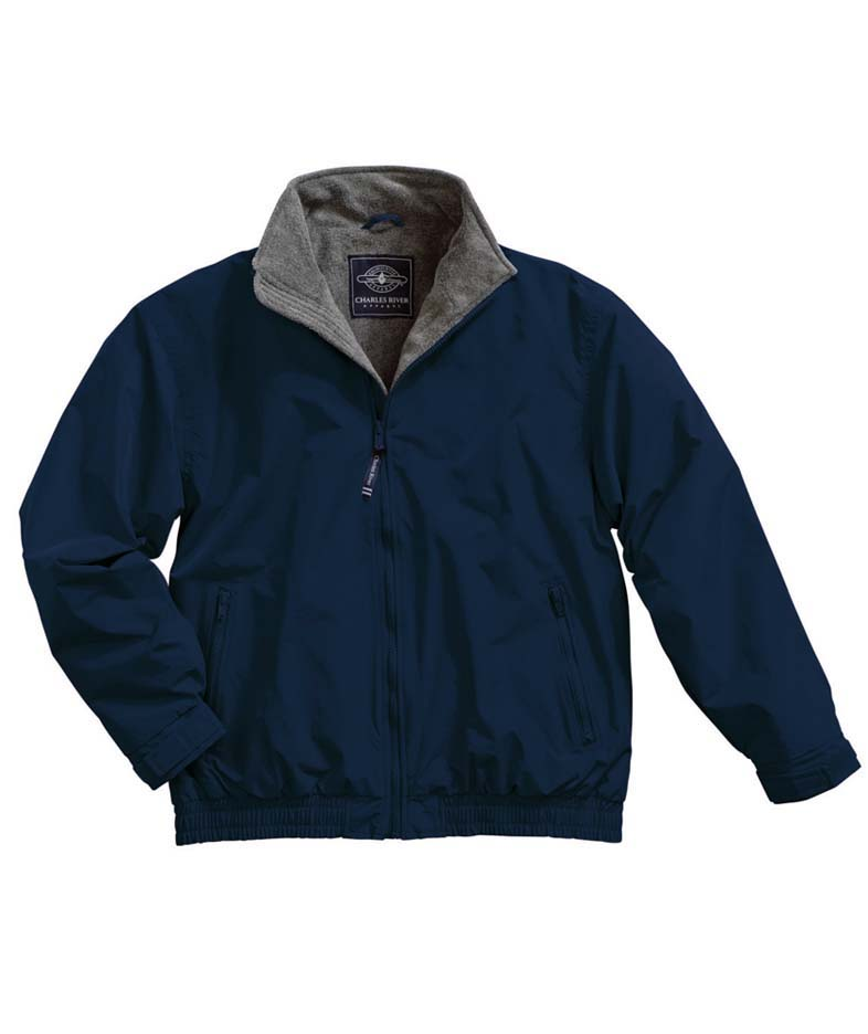"The ""Kids' Collection"" Youth Navigator Nylon Jacket from Charles River Apparel"
