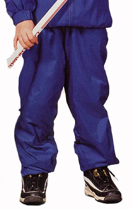 "The ""Kids' Collection"" Youth Rigger Lined Nylon Warm-Up Pants from Charles River Apparel"