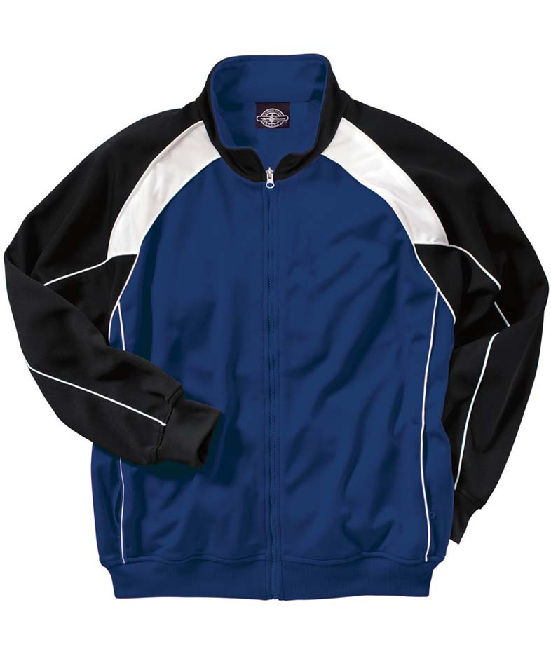 """The """"Kids' Collection"""" Boys' Olympian Warm-up Jacket from Charles River Apparel"""