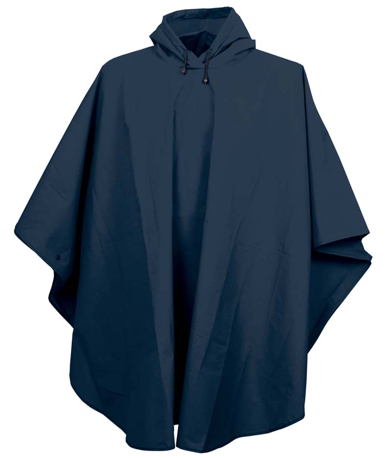 Cyclone EVA Waterproof Poncho / Rain Jacket from Charles River Apparel