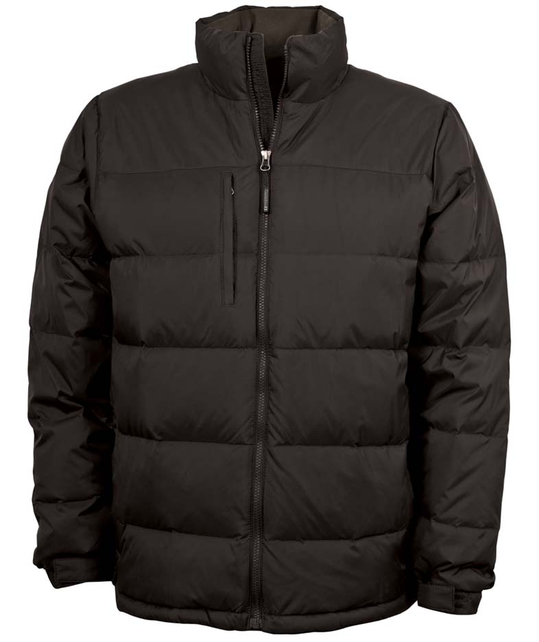 """Men's Quilted """"Wind / Water Resistant"""" Jacket from Charles River Apparel"""