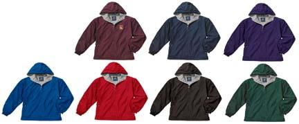 The New Youth Portsmouth Nylon Jacket from Charles River Apparel NV-CHR-8720