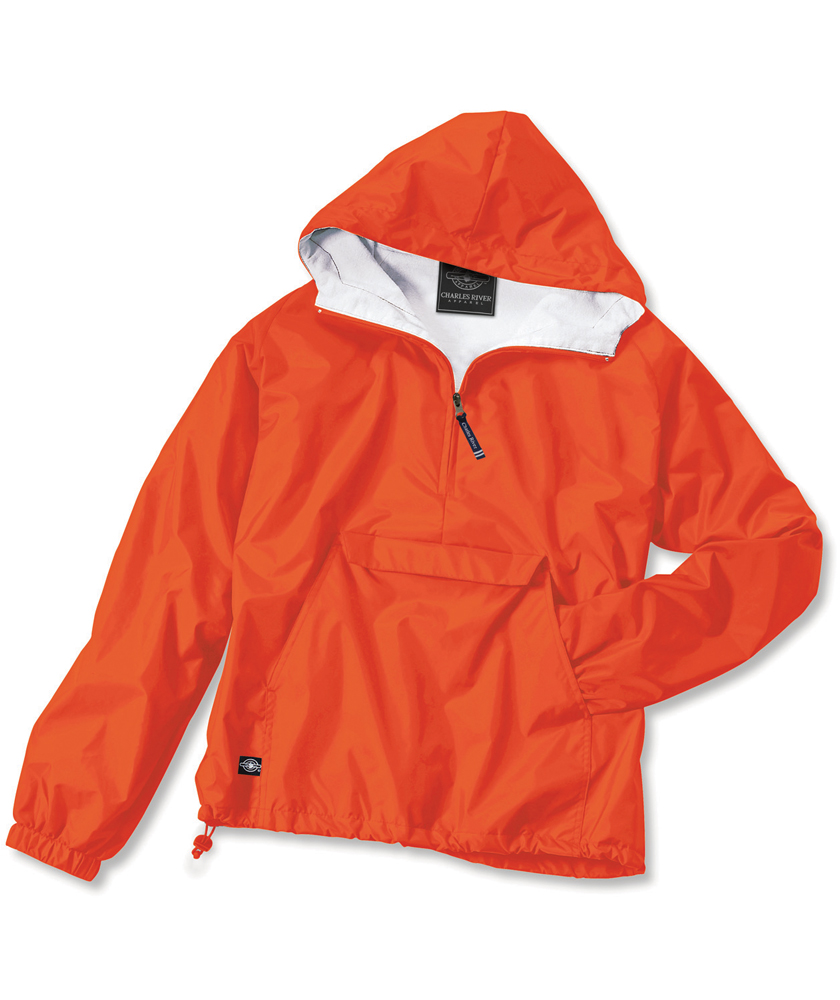 "Charles River Apparel The ""Classic Collection"" Classic Solid Nylon Pullover Jacket from Charles River Apparel at Sears.com"