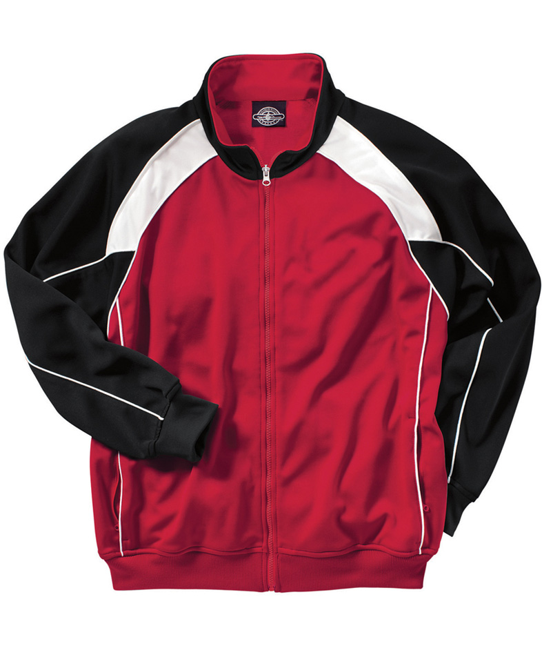 """The """"""""Olympian Collection"""""""" Men's Olympian Warm-up Jacket from Charles River Apparel"""" CHR-9984"""