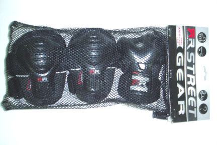 Junior Elbow, Knee, and Wrist Pads Combo Set from Chicago Skates CHS-P1033