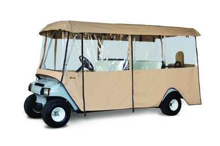 Classic Accessories Fairway Deluxe 6-Passenger Golf Car Enclosure