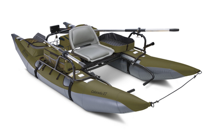 Classic Accessories Colorado XT Inflatable Pontoon Boat Sage