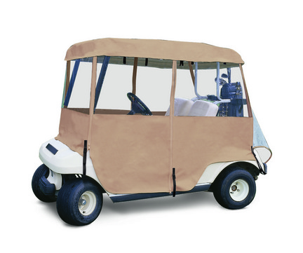 Classic Accessories Deluxe 4 Sided Golf Cart Enclosure (2 Person Golf Carts) CLA-72072