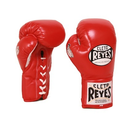 Cleto Reyes 10 Oz. Mens Official Safetec Official Boxing Gloves (blue) 1 Pair