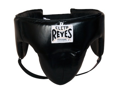Cleto Reyes Traditional Black Foul-Proof Protection Groin Guard (Medium)