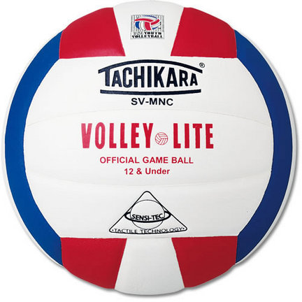 "Volley-Lite""® Volleyball from Tachikara Red / White / Blue"