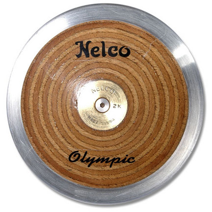 Nelco N1103A Laminated Olympic Wood Discus 2K BSN-1101409
