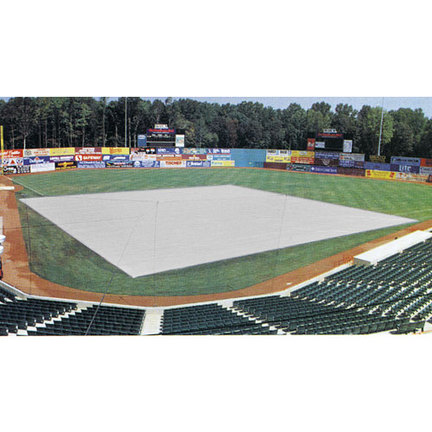 120' x 120' Softball Field Cover (625 lb)