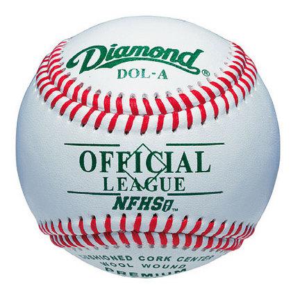 Diamond Official League NFHS Baseballs - 1 Dozen