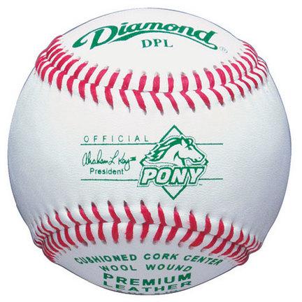 Diamond Pony League Competition Baseballs - 1 Dozen