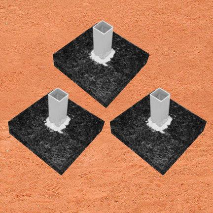 Base Anchor Foundation Set -Set of 3