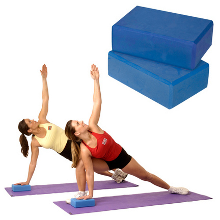 "3"" Yoga Block (Blue)"