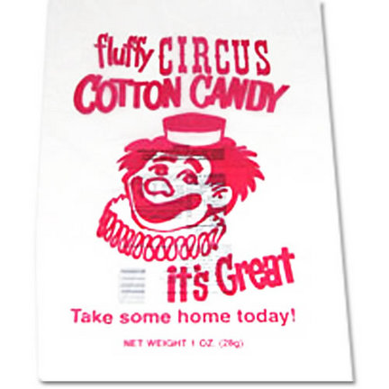 Cotton Candy Bags - 1000 Count