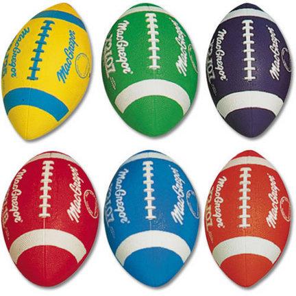 MacGregor® Youth Multicolor Football Prism Pack (Set of 6 Balls)