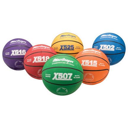 MacGregor® Intermediate Multicolor Basketball