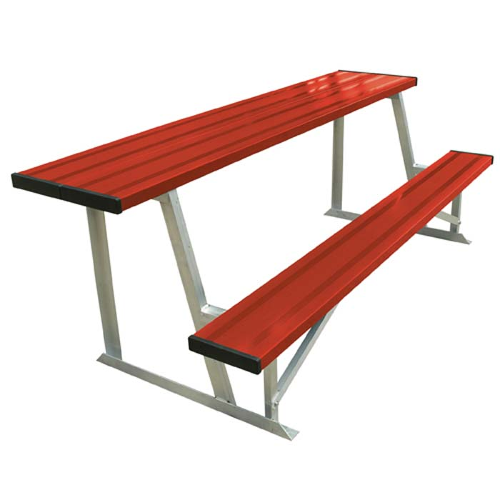 Aluminum 7.5' Scorer's Table with Bench