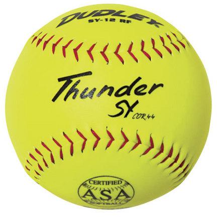 Dudley SY12RF ASA 12'' Softballs (1 Dozen)
