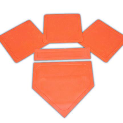 Orange Throw Down Bases (5 Piece Set) CP-1235623