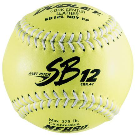 Dudley SB12LND-FP 12'' FastPitch Softballs (1 Dozen)