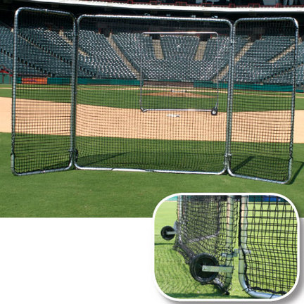 Replacement Net for the 8' x 16' Pro Base Tri-Fold Screen - 1 Pair