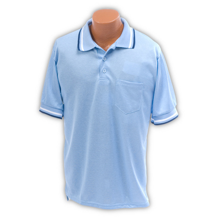 Light Blue Umpire Shirt (Sizes Medium - X-Large)